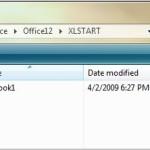 Excel Tip: Change Startup File