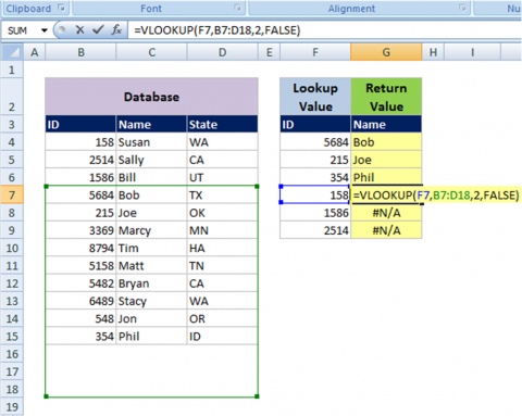 top 3 reasons why my vlookup isn t working