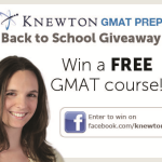 Facebook Giveaway: Knewton GMAT Course